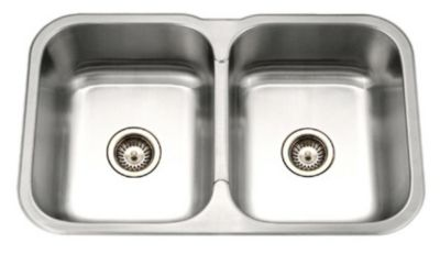 Medallion Gourmet Undermount Double Bowl Kitchen Sink
