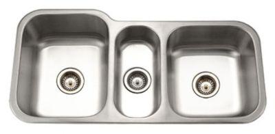 Medallion Gourmet Undermount Triple Bowl Kitchen Sink