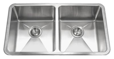 Nouvelle Undermount Double Bowl Kitchen Sink