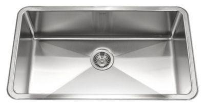 Nouvelle Undermount Gourmet Single Bowl Kitchen Sink