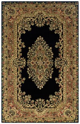 Shine Area Rug - Ebony/Terracotta