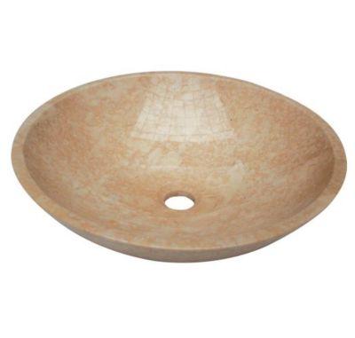 Bergamo Round Stone Vessel