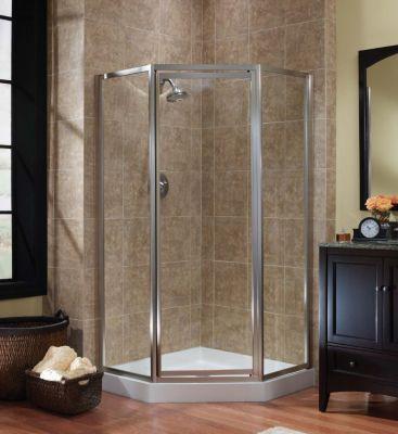 Tides Framed Neo Angle Shower Doors