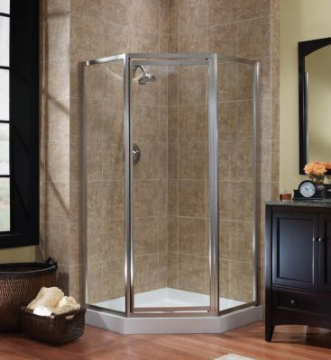 Tides Framed Neo Angle Shower Doors
