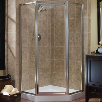 Tides Framed Neo-Angle Shower Door