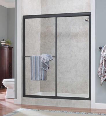Tides Framed Sliding Shower Doors