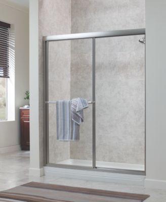 Tides Framed Sliding Shower Door