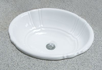 Lisbon™ Drop-In Self-Rimming Wash Basin