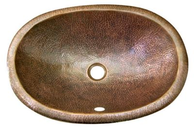 Forster Oval Undermount Lavatory Bowl