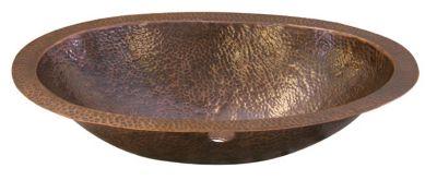 Fletcher Oval Self-Rimming Lavatory Bowl