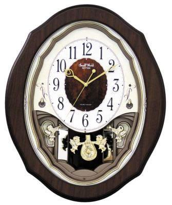 Precious Angels Musical Motion Clock