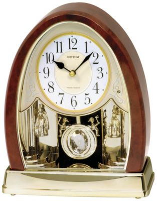Joyful Crystal Bells Musical Motion Clock