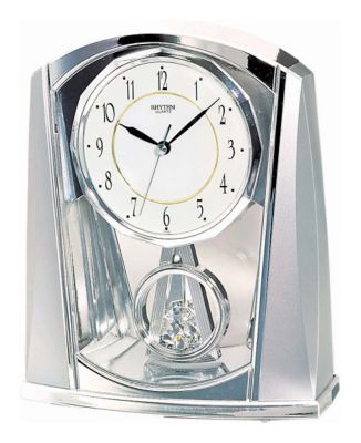 Silver Swing Contemporary Motion Clock