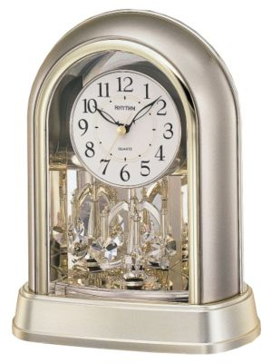 Crystal Mantel Contemporary Motion Clock