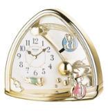 Sweet Bears Contemporary Motion Clock