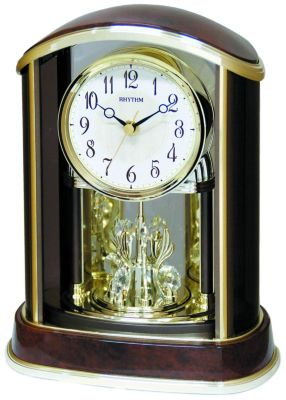 Crystal Flare Contemporary Motion Clock