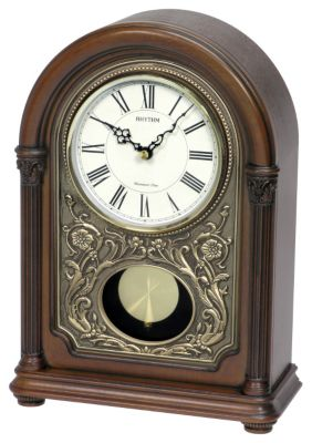 WSM Amherst Wooden Musical Clock