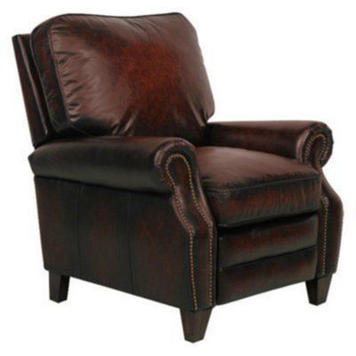 Vintage Reserve Briarwood II All Top Grain Leather Recliner