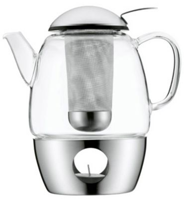 WMF 3-Piece SmarTea 34 Ounce Teapot - Matte