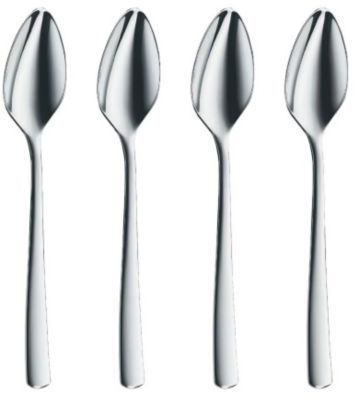 WMF Bistro Grapefruit Spoons - Set of 4