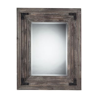 Monterey Mirror in Reclaimed Wood