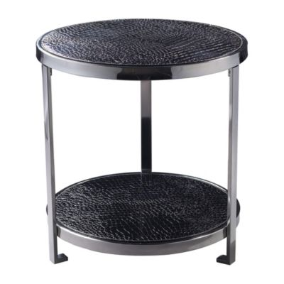 Black Croc Coffee Table