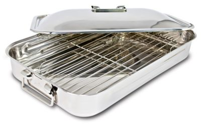 Covered Roaster with Rack