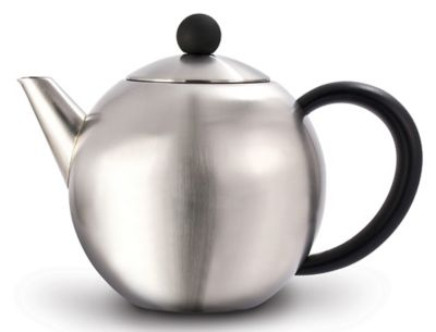 27oz Satin Teapot with Infuser