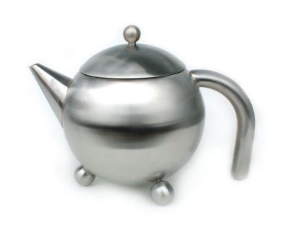 28oz Satin Teapot with Infuser