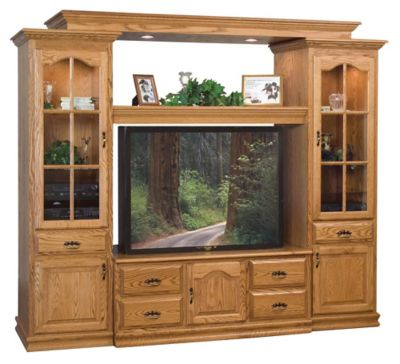 Heritage 100 Entertainment Wall Unit DirectBuy Inc