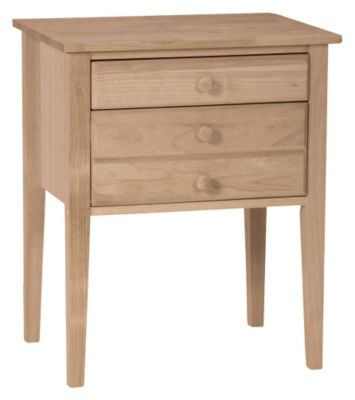 Xpress Accent Table with 2-Drawers