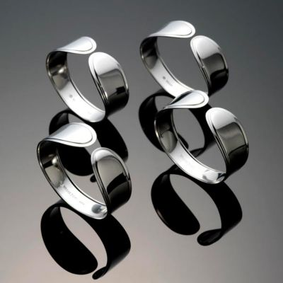 Austen 4-Piece Hospitality Napkin Ring