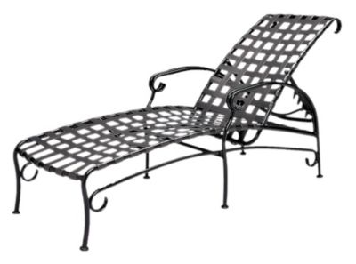 Ramsgate Adjustable Chaise Lounge without Cushions