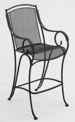 Modesto Stationary Barstool without Cushions