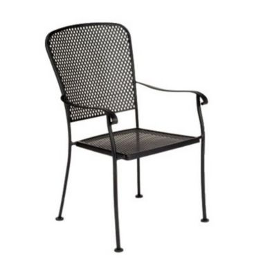 Fullerton Dining Stackable Armchair without Cushions