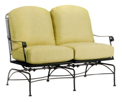 Fullerton Dual Spring Rocking Loveseat without Cushions