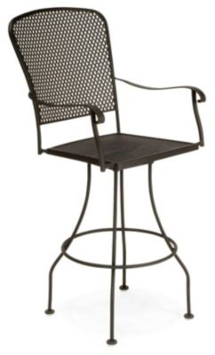 Fullerton Swivel Barstool without Cushions