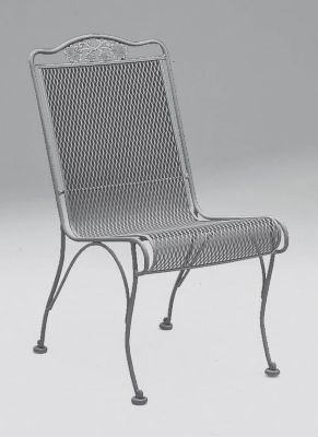 Briarwood High Back Dining Side Chair without Cushions