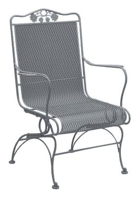 Briarwood High Back Coil Spring Chair without Cushions