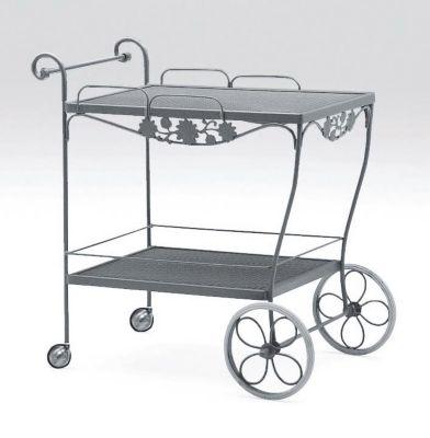 Briarwood Tea Cart with Mesh Top