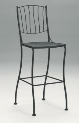 Aurora Stationary Side Barstool without Cushions