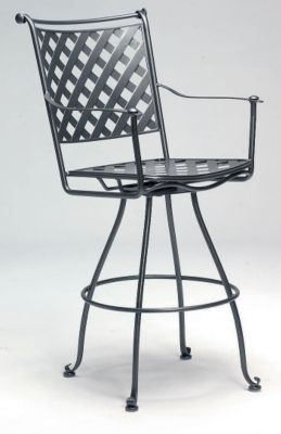Maddox Swivel Barstool without Cushions