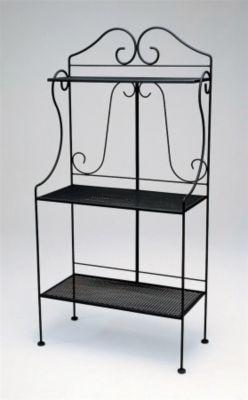 Deluxe Baker's Rack with Mesh Shelves