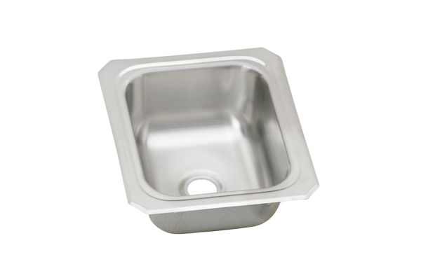 Gourmet (Celebrity) Stainless Steel Single Bowl Top Mount Bar Sink