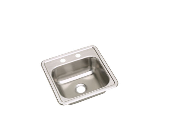 Dayton Stainless Steel Single Bowl Top Mount Bar Sinks (sold in multiples of 10)