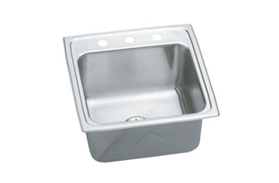 Image for Gourmet (Lustertone) Stainless Steel Single Bowl Top Mount Sink Kit from elkay-consumer