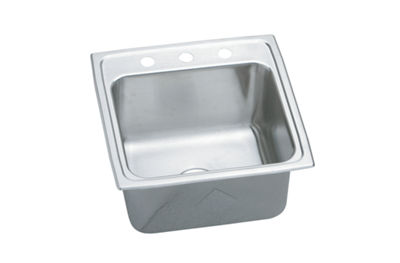 Image for Gourmet (Lustertone) Stainless Steel Single Bowl Top Mount Sink from elkay-consumer