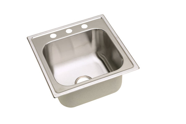 Dayton Premium Stainless Steel Single Bowl Top Mount Sinks