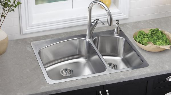 Top Kitchen Sinks Elkay dayton kitchen sinks drains and accessories dayton universal and top mount sinks workwithnaturefo