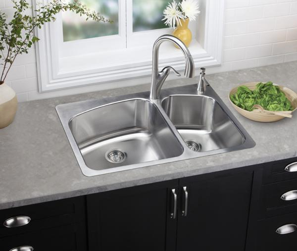 Dayton Drop In And Dual Mount Sinks